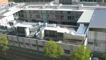 Bundesasylzentrum auf dem Duttweilerareal in Zürich-West.