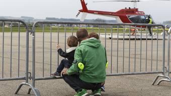 8. Heli-Weekend auf dem Grenchner Flugplatz