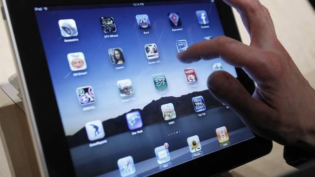 Apps auf der Benutzeroberfläche des iPads (Archiv)