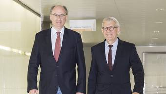 Ulrich A. Dietz (links) übernimmt das Amt von Markus Zuber.