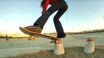 Beim Skateboarden gibt es keine Regeln.