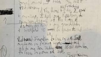 Die verstorbene Soul-Legende Aretha Franklin hat handschriftliche Dokumente hinterlassen. Ob sie als Testament durchgehen, wird abgeklärt.