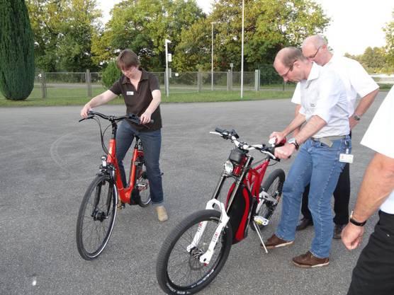 Zweiräder mit Elektroantrieb im Test