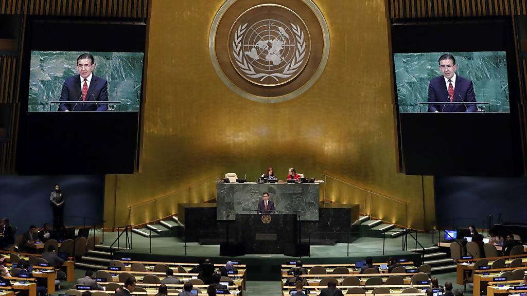 Uno-Vollversammlung fordert globale Solidarität in Corona-Krise