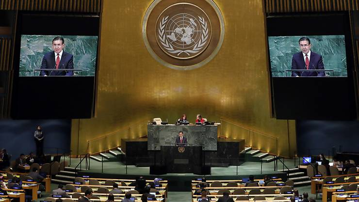 Die Uno-Vollversammlung fordert internationale Solidarität zur Bekämpfung des Coronavirus. (Archivbild)