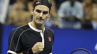 Roger Federer vertritt die Schweiz im Januar zusammen mit Henri Laaksonen am ATP Cup