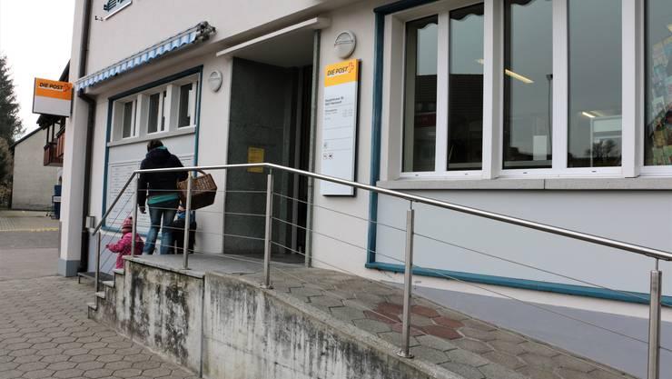 Herznach ist eine von fünf Fricktaler Gemeinden, in der die Zukunft der Poststelle ungewiss ist.