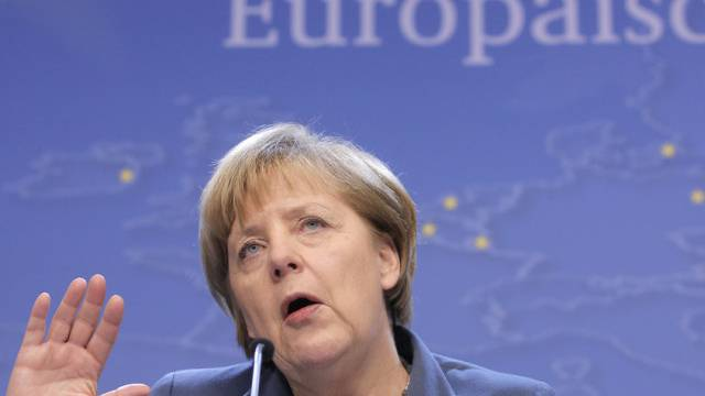 Kam bei EU-Kollegen schlecht an: Reformerin Angela Merkel.
