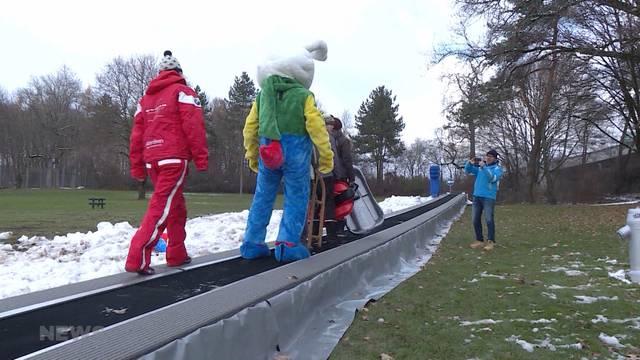 Weyerli wird zur Ski-Landschaft