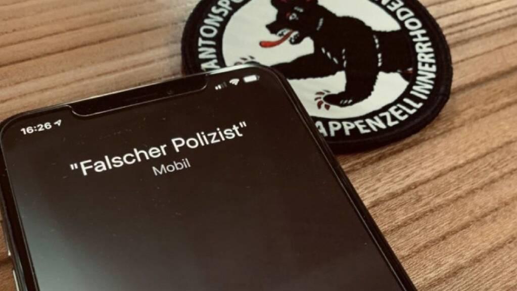In Appenzell Innerrhoden wurden zuletzt mehrere Betrugsversuche von falschen Polizisten gemeldet. (Symbolbild)