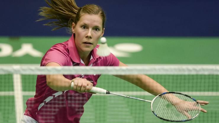 Die Neuenburgerin Sabrina Jaquet steigt zum vierten Mal in Folge direkt im Haupttableau ein.