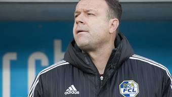 Aaraus Trainer Patrick Rahmen (hier noch beim FCL) hat Sorgen