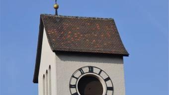 Ist es Fünf vor Zwölf? Der Turm der Trimbacher St.-Mauritius-Kirche