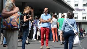 Joël Thüring wünscht sich einen Barfi ohne Tram-Chaos.