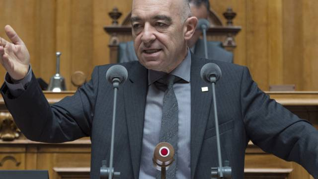 Daniel Jositsch im September 2014 im Nationalrat (Archiv)