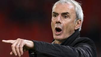 Gibt die Richtung (noch?) vor: Sions Trainer Michel Decastel