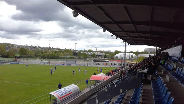 Der FC Wohlen tritt zuhause gegen die AC Bellinzona an.