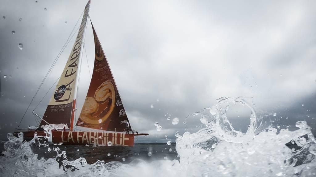 Trotz rauer See und defektem Boot: Alan Roura macht sich an der Vendée Globe auf den Heimweg