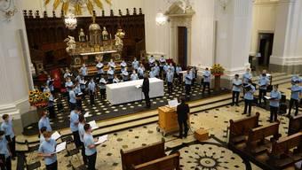 Chormusik vom 16. Jahrhundert bis in die Gegenwart: Die Singknaben überzeugen mit einem vielfältigen Konzert.