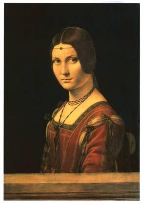 Zum 500. Todestag Leonardo da Vincis zeigt der Louvre «Portrait de femme, dit La Belle Ferronnière» von 1490.