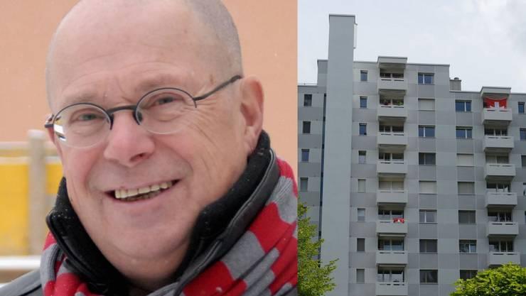 Neuenhofs ex-Gemeindeammann Walter Benz ist trotz Umfrage-Nein aus Baden für Fusion mit der Stadt.