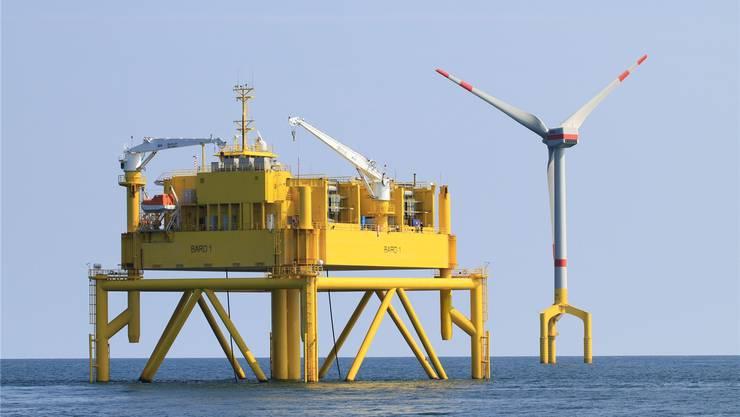 Der Bau des Grosswindkraftwerks Bard-Offshore 1 verzögert sich – die IWB ziehen sich vom Geschäft zurück.