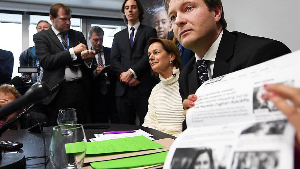 Ehemann Richard Ratcliffe informiert über seine im Iran inhaftierte Frau Nazanin Zaghari-Ratcliffe (Archiv)