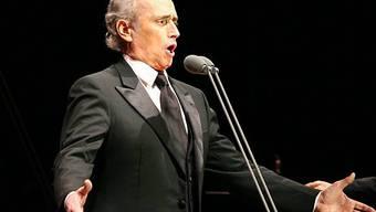 Der spanische Tenor José Carreras (Archiv)