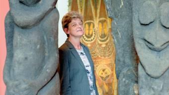 Sie glaubt an den Reiz des Originalobjekts: Anna Schmid, Direktorin des Museums der Kulturen Basel. Martin Töngi.