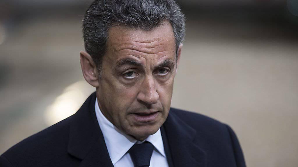 Erlitt eine schwere Niederlage vor Gericht in einer Bestechungsaffäre: Der französische Ex-Staatschef Nicolas Sarkozy (Archivbild)