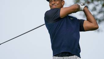 Tiger Woods konnte mit seinem Spiel fürs Erste nicht zufrieden sein