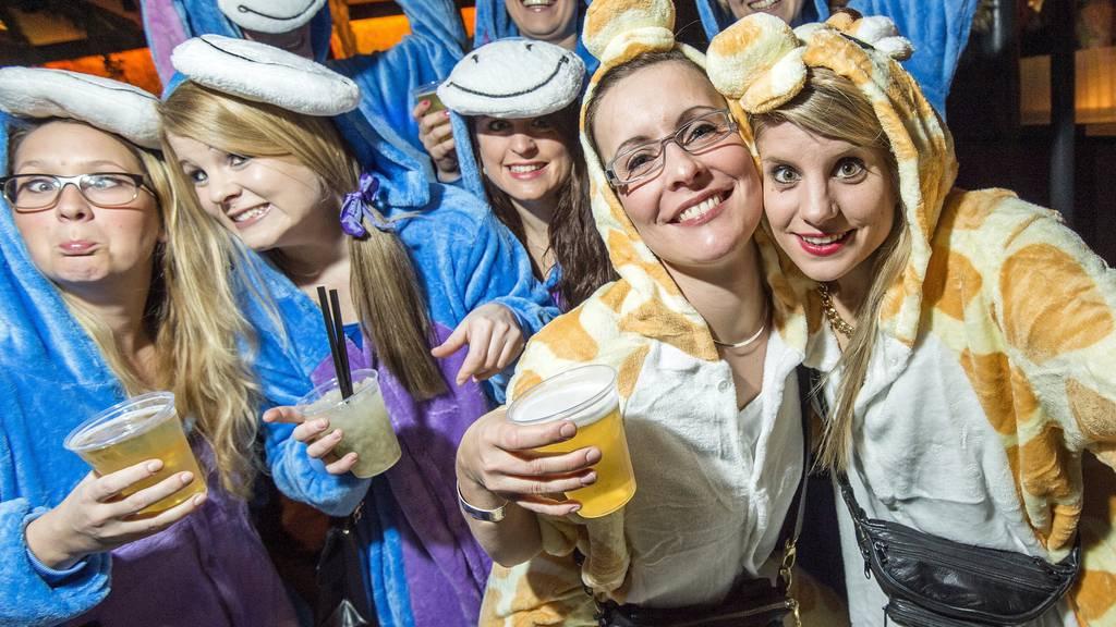 Bechtelisnacht - Fröhliches Feiern, dürfte auch heute Nacht auf den Frauenfelder Strassen angesagt sein.