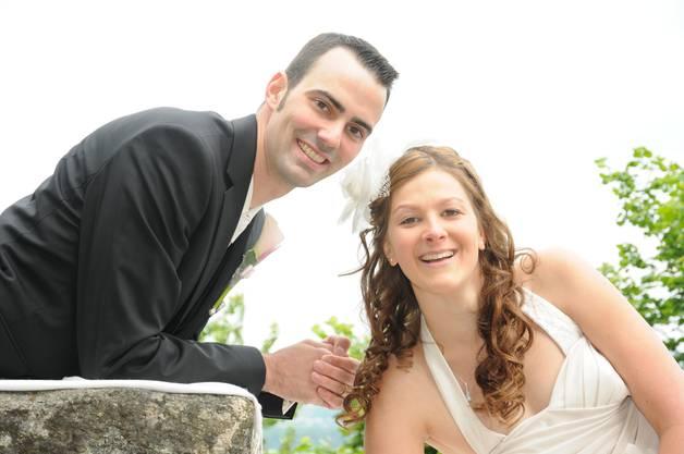 Sabrina und Philipp aus  Hirschthal