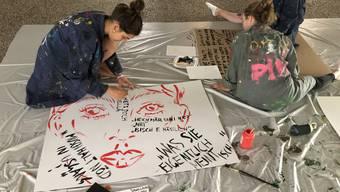 Frauenstreik Kantonsschule Limmattal