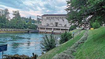 Wegen des Umbaus wird das Kraftwerk Rupperswil-Auenstein zwei Monate lang keinen Strom mehr produzieren.