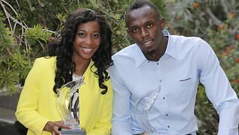 Die Gekürten: Shelly-Ann Fraser-Pryce und Usain Bolt