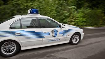 Kantonspolizei Aargau im Einsatz. (Symbolbild)
