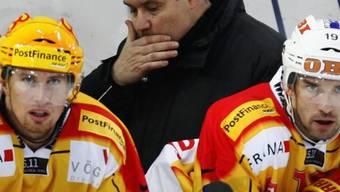 Langnau-Trainer Konstantin Kuraschew