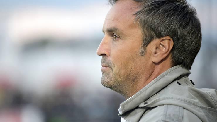 Wils Trainer Martin Rueda durfte sich in Aarau über den Gewinn von drei Punkten freuen