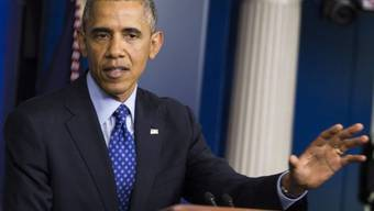 Präsident Obama erläutert die Massnahmen für die Irak-Krise