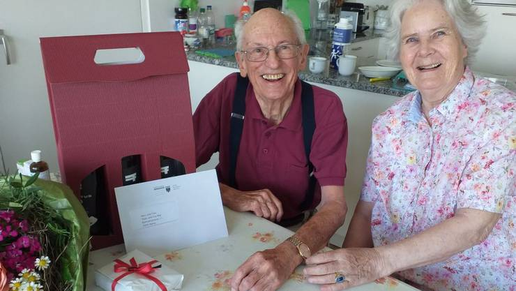 Seit 60 Jahren gehen Sie gemeinsam durchs Leben: Theo und Eva Rey-Amsler