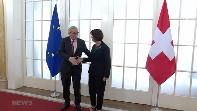 Schweiz verspricht der EU 1,3 Mia. Franken