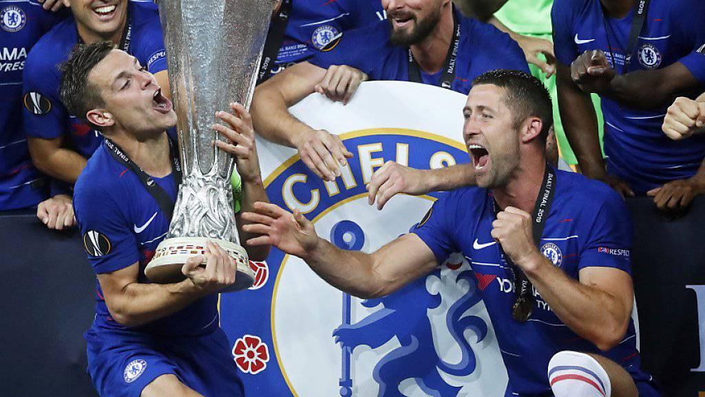 Nach derzeitigem Stand darf sich der neue Europa-League-Gewinner Chelsea ein Jahr lang nicht verstärken
