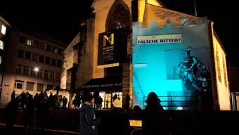 Das Historische Museum Basel während einer Museumsnacht. (Archiv)