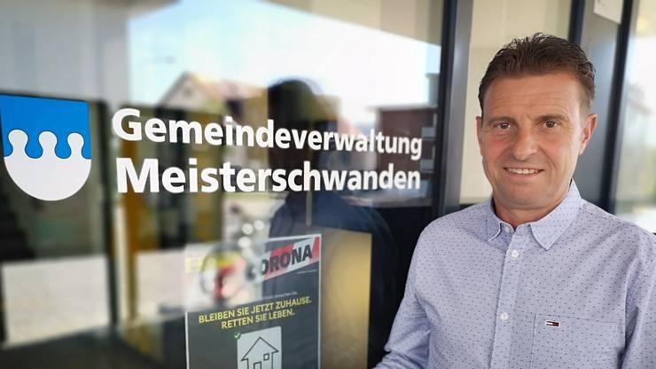 Ueli Haller, Gemeindepräsident Meisterschwanden, (SVP)