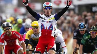Alexander Kristoff reiht bei Drei Tage von De Panne Sieg an Sieg.