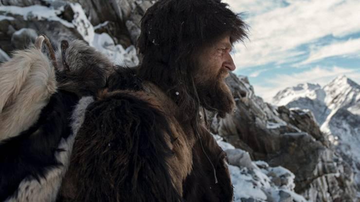 """Jürgen Vogel im Film als Ötzi im Film """"Iceman"""". Auch im wirklichen Leben kommt er ohne Luxus aus, sagt er. (Pressebild)"""