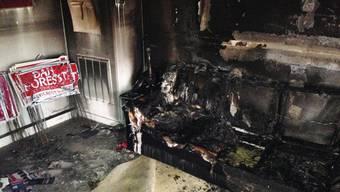 Brandanschlag auf ein US-Wahlkampfbüro der Republikaner in Orange County