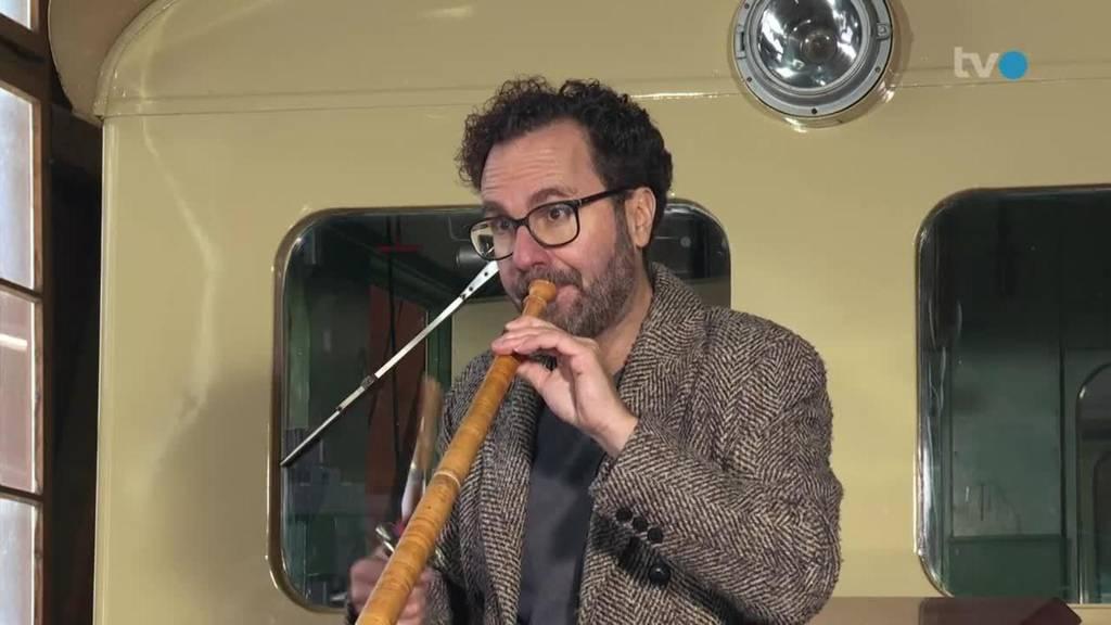 Im Zug mit... Enrico Lenzin