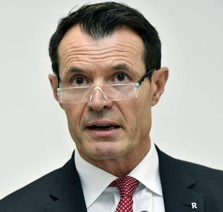Guy Lachappelle war bei der Basler Kantonalbank tätig, als der Fall ASE bei der Bank auf dem Radar auftauchte. Heute ist er Präsident von Raiffeisen.